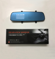 1080P HD rearview mirror driving recorder