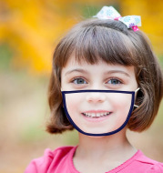 Transparent Mask Children's Adult Protective Equipment
