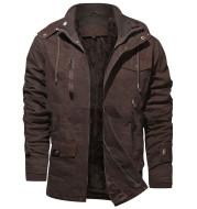 Pure cotton men's coat Retro