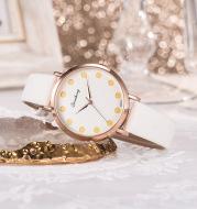 Scale quartz watch