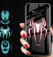 Luminous tempered glass phone case