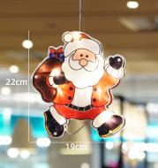 Christmas store shop luminous lamp door hanging