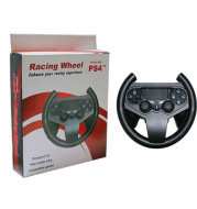 PS4 game console steering wheel