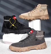 Men's high top Martin boots