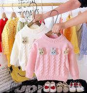 Children's Western style pullover sweater