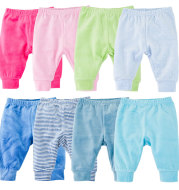 Solid-color warm pants for boys and children