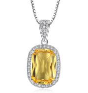 Zircon pendant ladies clavicle chain necklace