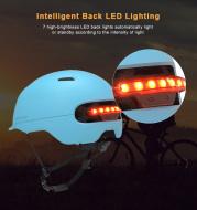 Two in One Bicycle Lamp Cycling Smart Tail Light Bike Adult Helmet Bike Kid Helmet