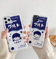 Japanese cartoon drink couple mobile phone case