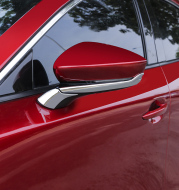 Mazda 3 Angkesila rearview mirror modified rear view mirror decorative bright strips
