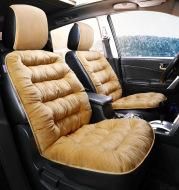 Universal Winter Warm Plush Cloth Car Seat Cushion
