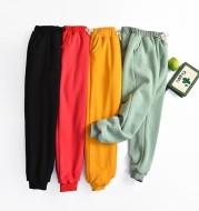 Lamb velvet sweatpants women autumn and winter plus cashmere sweatpants cotton trousers