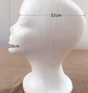 Canvas head mold for finishing wig shape