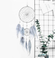 Modern simple looking up at the starry sky series dream catcher