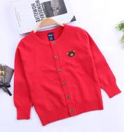 Classic Explosion Boys Knit Cardigan Thin Kids Jacket
