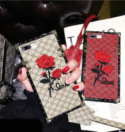 Luxury Embroidery 3D Rose Flower Phone Case
