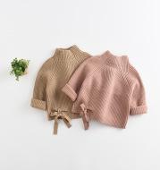 Knit sweater cardigan girl winter clothing