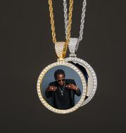 Memory photo custom pendant