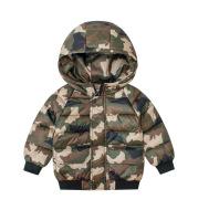 Children's cotton camouflage jacket men