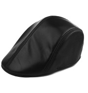 Golf  autumn and winter fashion warm leather hat