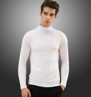 Men's high neck lapel thermal underwear