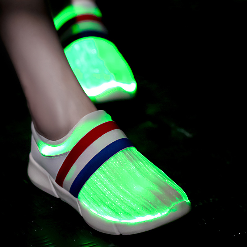 Fiber Optic LED Shoes allinonehere.com
