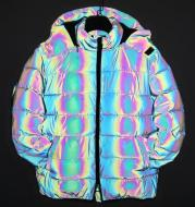 Rainbow reflection winter jacket