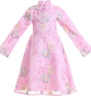 Girl cheongsam costume skirt