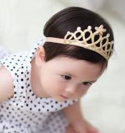 Children's birthday crown headband