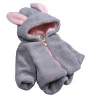 Plush thick rabbit ears children's clothing
