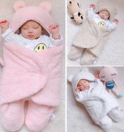 Baby Sleeping Bag Envelope for Newborn Baby Winter Swaddle Blanket