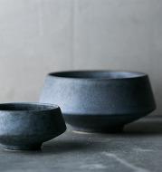 Vintage ceramic high bowl