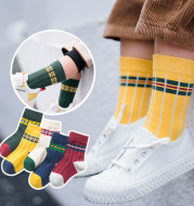 Package post autumn and winter children's socks sports socks 5 pairs
