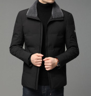 Outdoor leisure down jacket