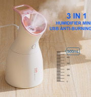 Three-in-one Purple Light Disinfection Lamp Humidifier