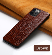 Leather business leather anti-fall mobile phone protective case