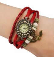 Angel Pendant Vintage Women's Cuticle Bracelet Watch