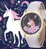 Women's Watch Unicorn Pattern Watch