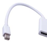 24 cm Mini DisplayPort Display Port DP vers HDMI Câble Adaptateur Pour