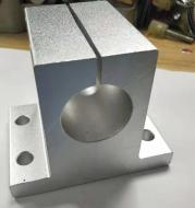 Side mounting type with bracket for aluminum base
