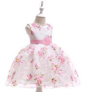 Gauze Flower Girl Wedding Dress Girl evening dress