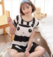 Cartoon cotton pajamas