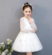 Fashion girl flower girl dress