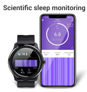 Smart Sports Watch with Full Touch Screen Detect Heart Rate and Blood Pressure