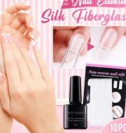 Nail extension fiberglass fiberglass+Fiber Builder Gel