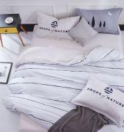 Pure cotton four-piece set cotton bed linen duvet cover single