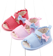 Baby lace-up summer step shoes soft sole toddler shoes