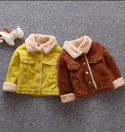 Children's cotton cartoon long-sleeved zipper jacket