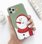 Christmas snowman elk phone case