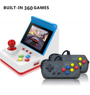 Mini handheld arcade rocker table double version